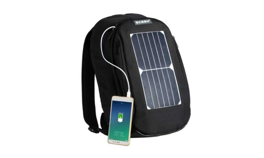 ECEEN Laptop Backpack with 7W Waterproof Solar Panel Review